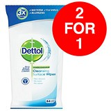 Image of Dettol Antibacterial Surface Cleaning Wipes / Pack of 84 / Buy One Get One FREE