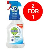 Image of Dettol Surface Cleanser Spray / 750ml / Buy One Get One FREE