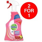 Image of Dettol Power Fresh Cleaner / Antibacterial / Pomegranate / 1 Litre / Buy One Get One FREE