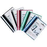 Image of Durable A4 Duraplus Quotation Folders / Assorted / Pack of 25