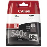 Image of Canon PG-540XL High Yield Black Inkjet Cartridge