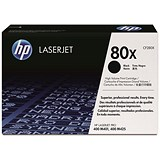 HP 80X Black Laser Toner Cartridge