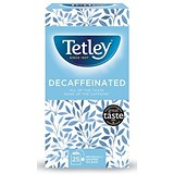 Image of Tetley Decaffeinated Tea Bags / Drawstring in Envelope / Pack of 25