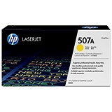 Image of HP 507A Yellow Laser Toner Cartridge