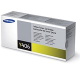 Image of Samsung CLT-Y406S Yellow Laser Toner Cartridge