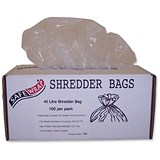 Image of Robinson Young Safewrap Shredder Bags 40 Litre Ref RY0470 [Pack 100]