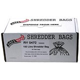 Image of Robinson Young Safewrap Shredder Bags 150 Litre Ref RY0472 [Pack 50]