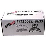 Image of Robinson Young Safewrap Shredder Bags 200 Litre Ref RY0473 [Pack 50]