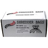Image of Robinson Young Safewrap Shredder Bags 250 Litre Ref RY0474 [Pack 50]