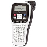Image of Brother P-Touch Labelmaker Handheld Prints TZE up to 12mm Width Ref PT-H105