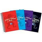 Image of Campus Laminated Card Cover Wirebound Notebook / A6 / 140 Pages / Pack of 10