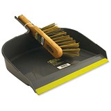 Image of Large Heavy Duty Dustpan & Brush