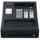 Image of Sharp Cash Register 80PLUs Black Ref XE-A107BK