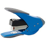 Image of Rexel Easy Touch Quarter Strip Stapler / Capacity: 20 Sheets / Blue