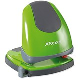 Image of Rexel Easy Touch Low Force 2 Hole Punch / Green / Punch capacity: 30 Sheets