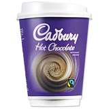 Image of Cadbury Instant Hot Chocolate Drink in a 12oz (340ml) Cup - Pack of 8