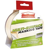 Image of UniBond Masking Tape / Easy On/Off / 25mm x 25m