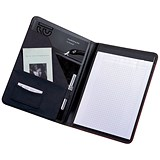 Image of 5 Star Conference Folder with Writing Case / Leather-Look / A4 / Black