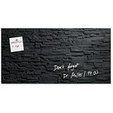 Image of Sigel Artverum Tempered Glass Board / Magnetic / W910xH460mm / Slate