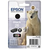 Image of Epson 26 Black Inkjet Cartridge