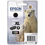 Image of Epson 26XL Black Inkjet Cartridge