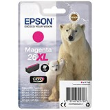 Image of Epson 26XL Magenta Inkjet Cartridge