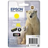 Image of Epson 26XL Yellow Inkjet Cartridge