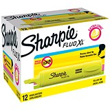 Sharpie Fluo XL Highlighter / Yellow / Pack of 12