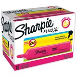 Image of Sharpie Fluo XL Highlighter / Pink / Pack of 12