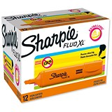 Image of Sharpie Fluo XL Highlighter / Orange / Pack of 12