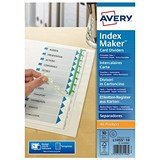 Image of Avery Indexmaker Dividers / Extra Wide / 10 Part / White