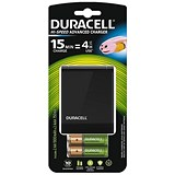 Image of Duracell CEF27 Battery Charger - 45 Minutes Charging