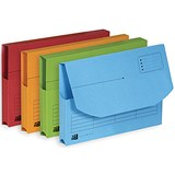 Elba Ultimate Document Wallets Half Flap / Assorted / Pack of 25