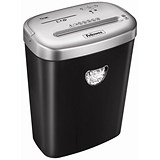 Image of Fellowes 53C Deskside Shredder 4.0x50mm Cross Cut 25 Litre Din3 10 Sheet Ref 4653001