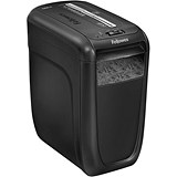 Image of Fellowes 60Cs Deskside Shredder Cross-cut DIN3 P-3 Ref 4606201