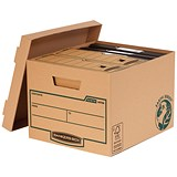 Image of Fellowes Bankers Box Earth Storage Boxes / Standard / Pack of 10