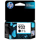 Image of HP 932 Black Ink Cartridge