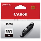 Image of Canon CLI-551 Black Inkjet Cartridge