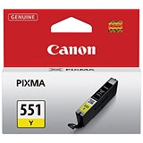 Image of Canon CLI-551 Yellow Inkjet Cartridge