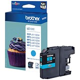Image of Brother LC123C Cyan Inkjet Cartridge