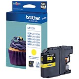 Image of Brother LC123Y Yellow Inkjet Cartridge