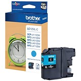 Image of Brother LC125XLC Cyan Inkjet Cartridge
