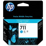 Image of HP 711 Cyan Ink Cartridge