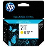 Image of HP 711 Yellow Ink Cartridge