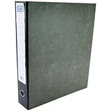 Elba Rado A3 Lever Arch File / Portrait / Slotted Cover / 80mm Spine / Black