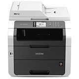 Image of Brother Colour Laser Multifunctional Printer Duplex Network Wi-Fi A4 Ref MFC9340CDW