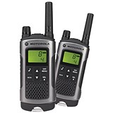 Image of Motorola TLKR T80 2-way Radios Band PMR446 8 Channels 121 Codes Range 10km Ref 50047 [Pair]