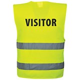 Image of High Visibility Visitors Vest - XXL-XXXL