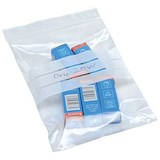 Image of Grip Seal Polythene Bags / Write On / 40 Micron / 125x190mm / Pack of 1000