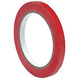 Image of Bag Sealer Tape / 9mmx66m / Vinyl / Red / Pack of 6